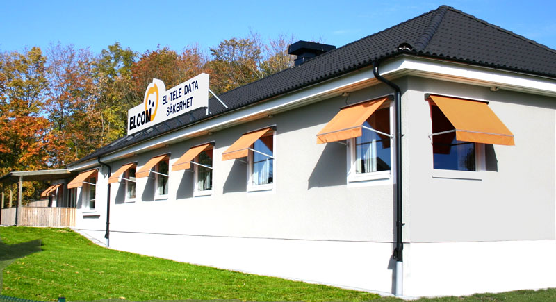 Elcom kontor i Karlshamn