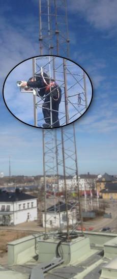 Installation av övervakningskamera