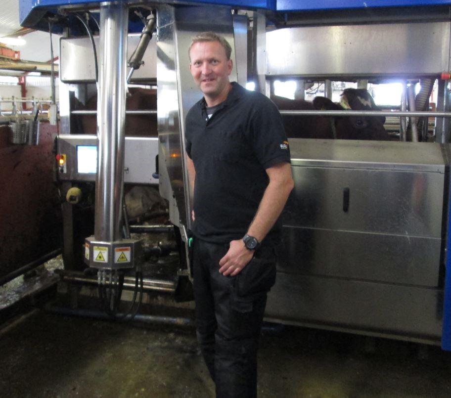 Lantbruk mjölkmaskin