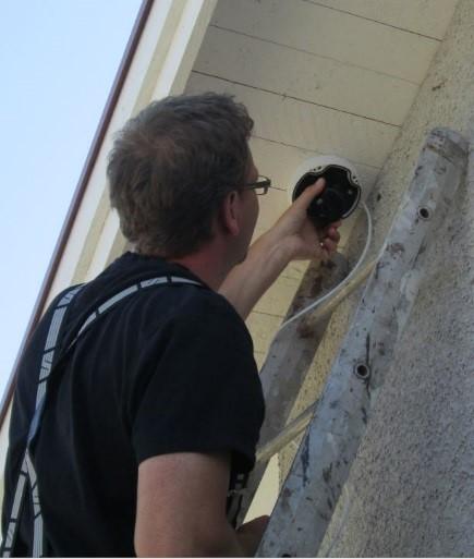 Installation av CCTV